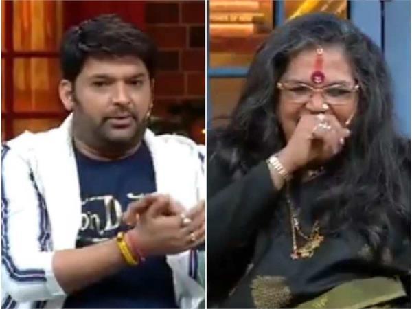 kapil feels flattered as usha uthup somebody calling bhoot