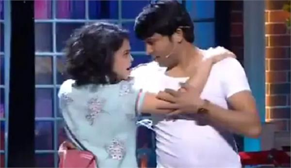 kapil sharma show chandu romance with sumona