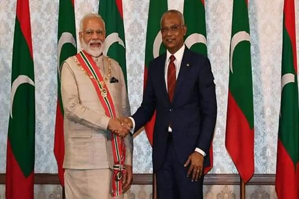 india maldives will start ferry service for the first time