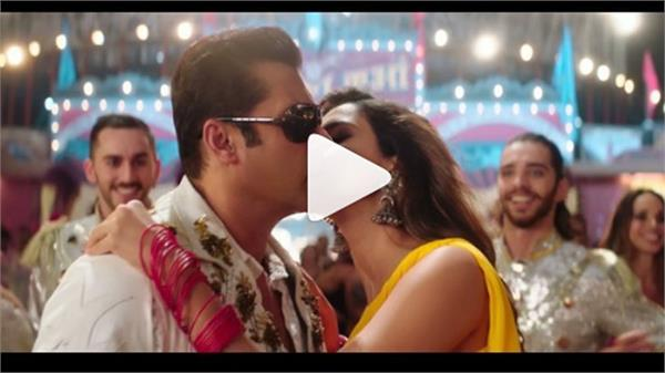 salman khan and disha bharat video viral