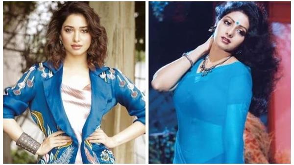 bollywood actress tamannaah bhatia wants to play sridevi s role