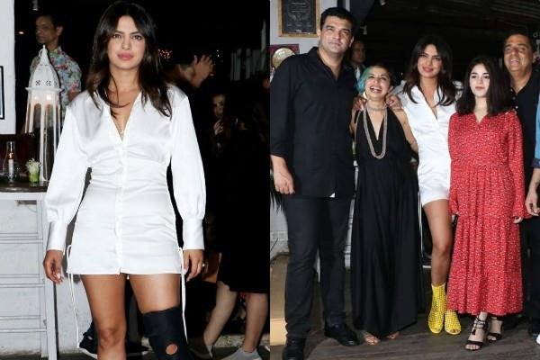 priyanka chopra looks stunning at film the sky is pink wrap up party