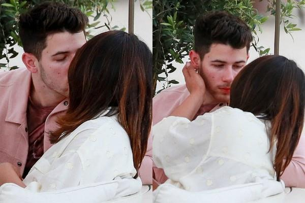 priyanka chopra nick jonas romantic pictures