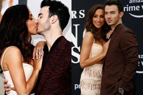 kevin jonas romantic pictures with wife danielle jonas