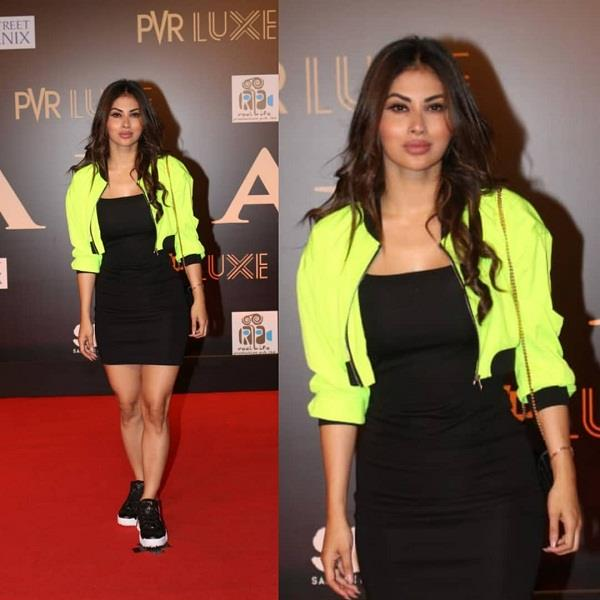 mouni roy trolled for her look in bharat premium