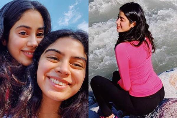 janhvi kapoor enjoying holidays with sister
