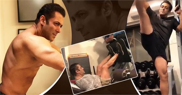 salman khan gym exercise pictures