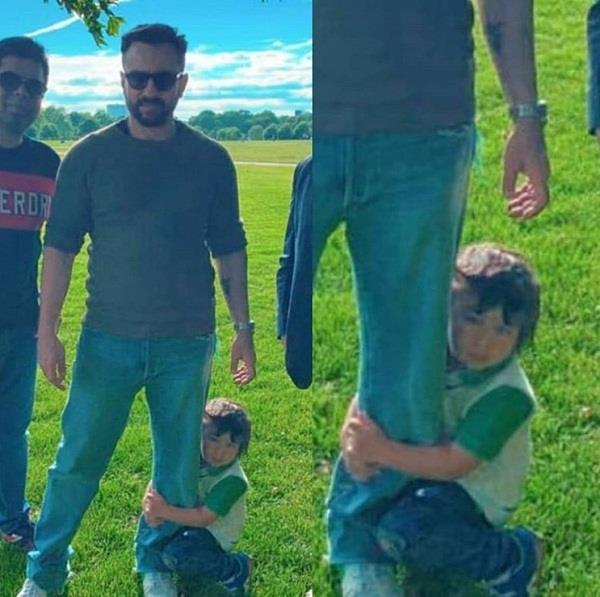 taimur ali khan latest picture viral
