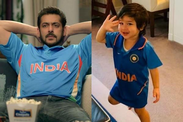 world cup 2019 salman khan to taimur congratulate to team india
