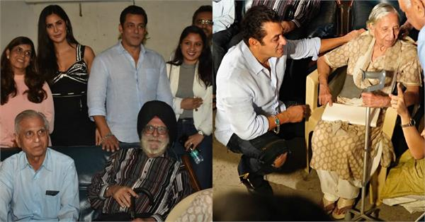 salman spend time with the real families who experienced the events of 1947