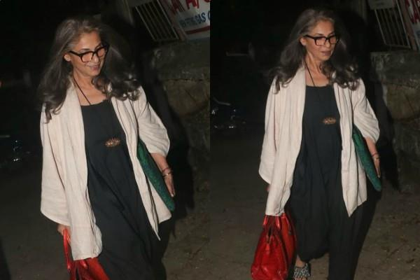 dimple kapadia spotted at juhu