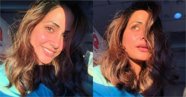 hina khan shares glamorus pictures
