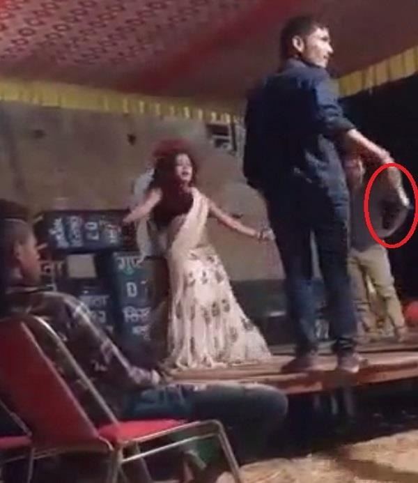 harsh firing video viral at the wedding ceremony