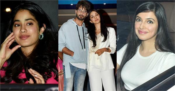 bollywood stars attend kabir singh special screening