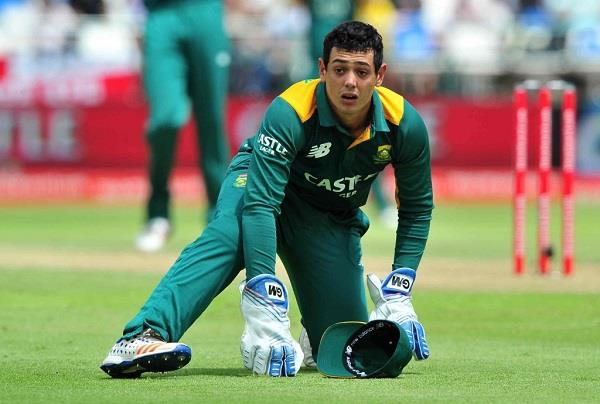 a big mistake made by de kock during wicketkeeping