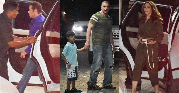 sohail khan son yohan khan birthday bash