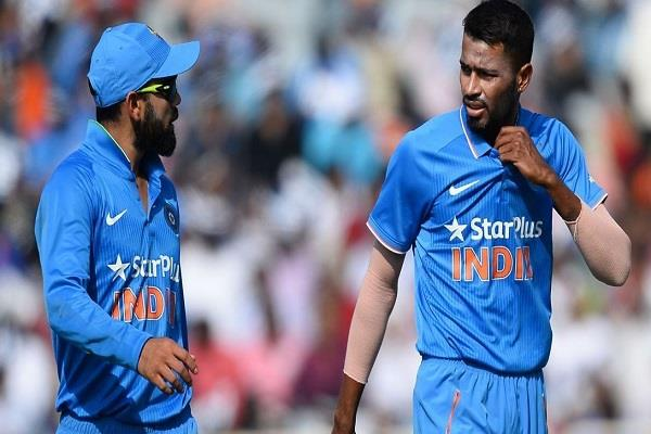 hardik told kohli during the match you do not need to take the risk