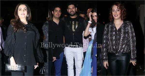 yuvraj singh hosts post retirement party