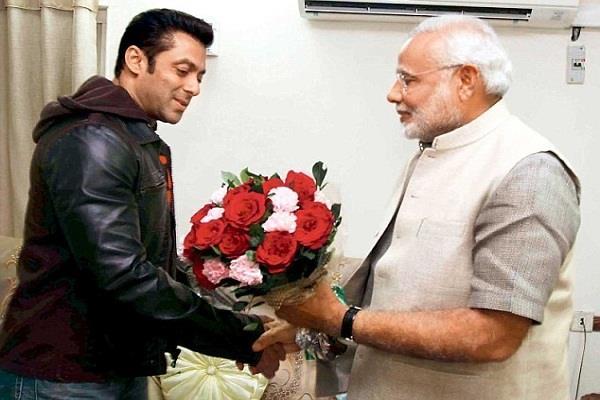 salman khan congratulate pm narendra modi and his cabinet minister