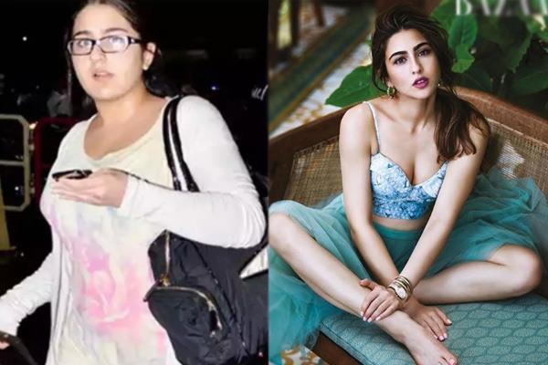 actress sara ali khan fitness news in hindi and weight loss tips