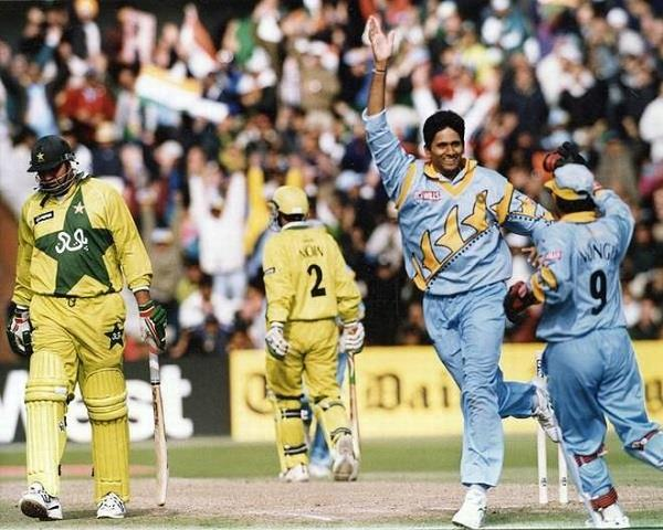 india pakistan collided 20 years ago in manchester wc2019