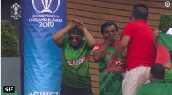bangladeshi fans happy to beat south africa nagin dance