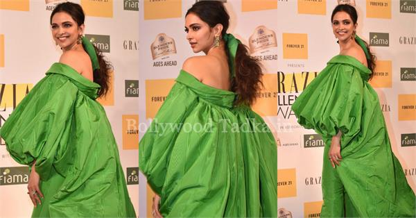 deepika padukone at grazia millennial awards 2019