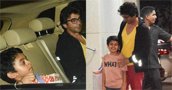 sunil grover attend sohail khan son birthday party