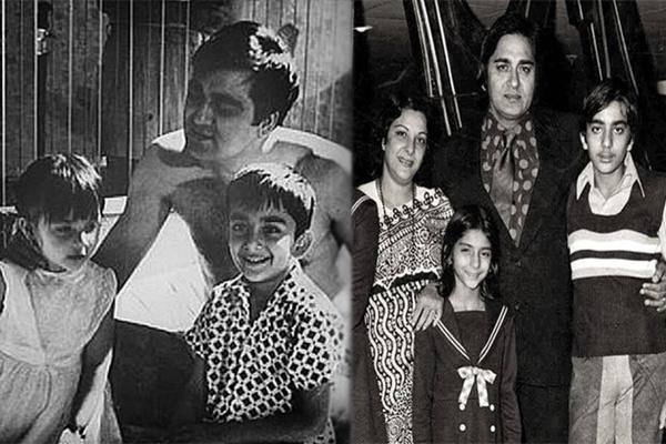 sanjay dutt share father sunil dutts photos on birth anniversary