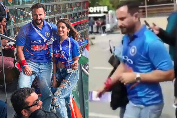 pakishtani fan misbehaved with saif ali khan