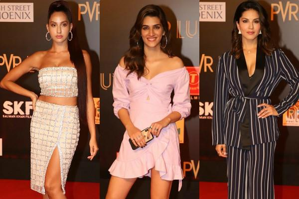 bollywood stars at bharat movie premiere
