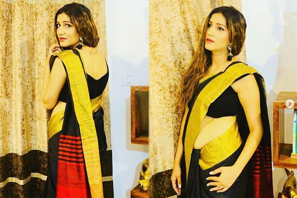 sapna choudhary saree photos goes viral