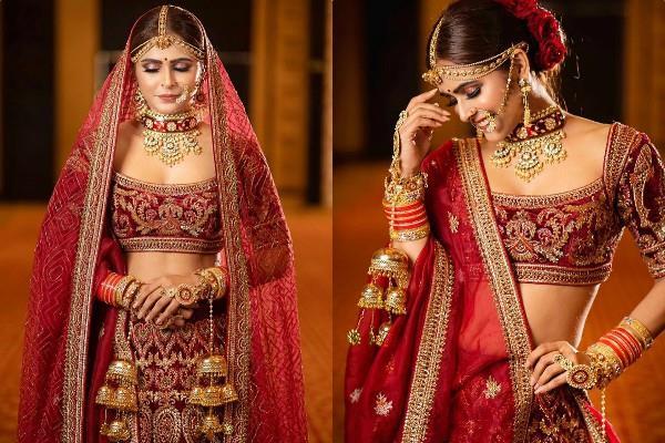 chandrakanta fame madhurima tuli stunning bridal photoshoot