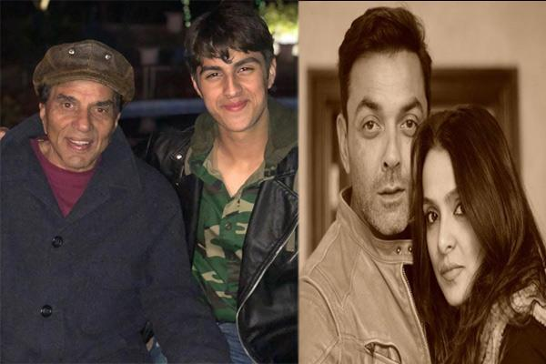 see the picture of deol family and bobby deol son turns 18
