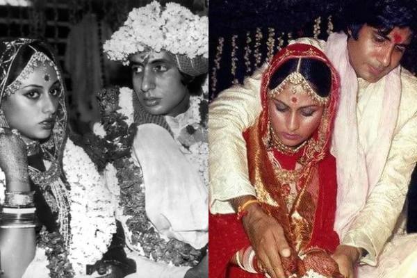 amitabh bachchan jaya bachchan wedding pictures