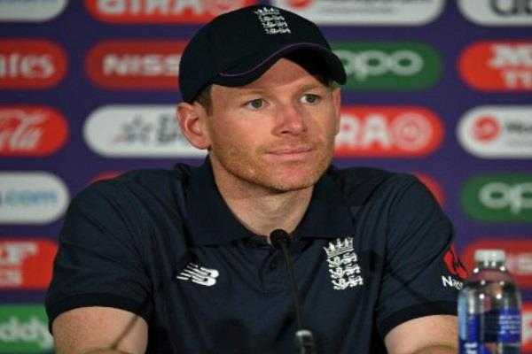 morgan said on record of sixes never thought that such innings would play