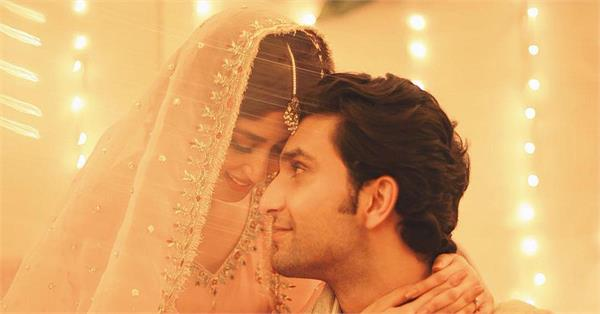 sridevi onscreen daughter sajal aly engaged with boyfriend ahad raza mir