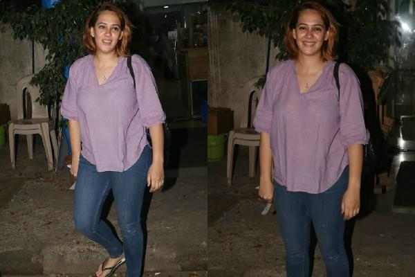 hazel keech spotted at juhu