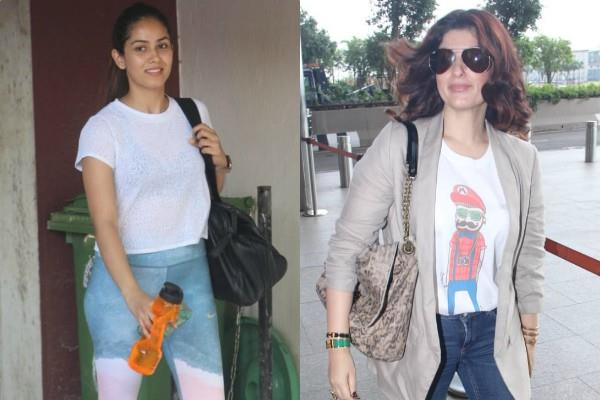 mira rajput and twinkle khanna latest pictures