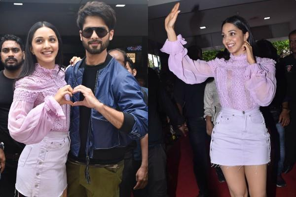 shahid kapoor kiara advani at song launch