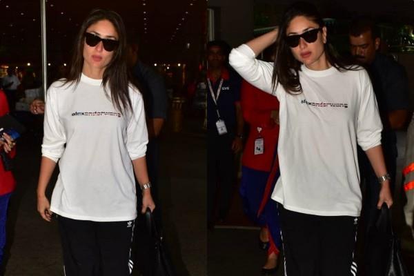 पति-बेटे को लंदन छोड़ अकेली मुंबई लौटीं करीना, एयरपोर्ट पर कैजुअल लुक में दिखा एटीट्यूड