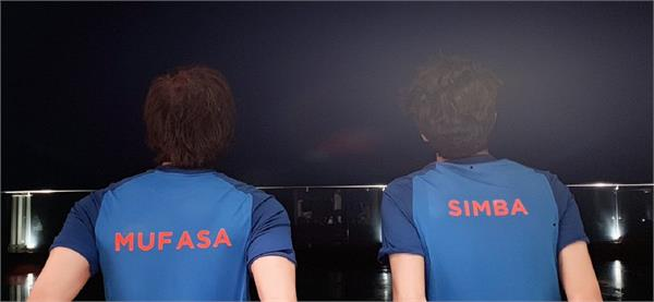 shahrukh all set to watch india pakistan world cup 2019 match with son aryan