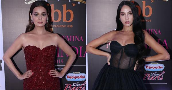 bollywood celebrities attend femina miss india 2019