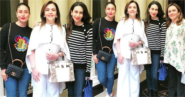 kapoor sisters met nita ambani in london
