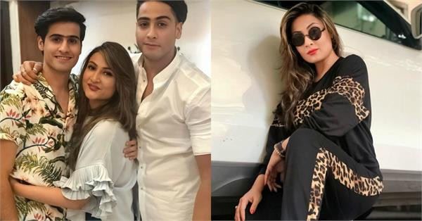 urvashi dholakia celebrates sons 24th birthday