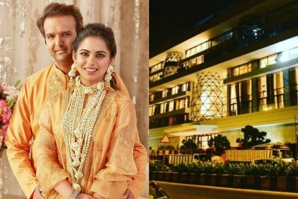 isha ambani and anand piramal new gulita bungalow price and inside pictures