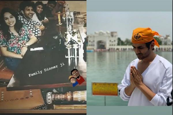 kartik aaryan visit golden temple