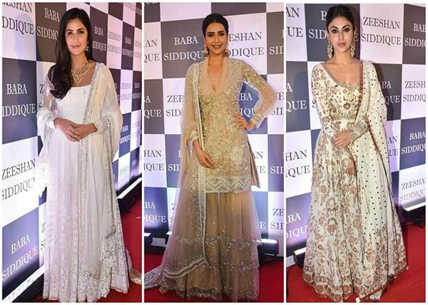 mouni roy salman khan and others celebs attend baba siddique s iftar party