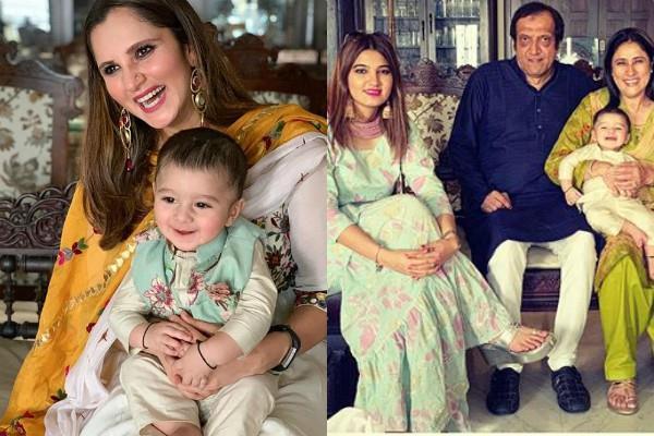 बेटे के साथ सानिया मिर्जा ने मनाई पहली ईद, परिवार भी दिखा साथ