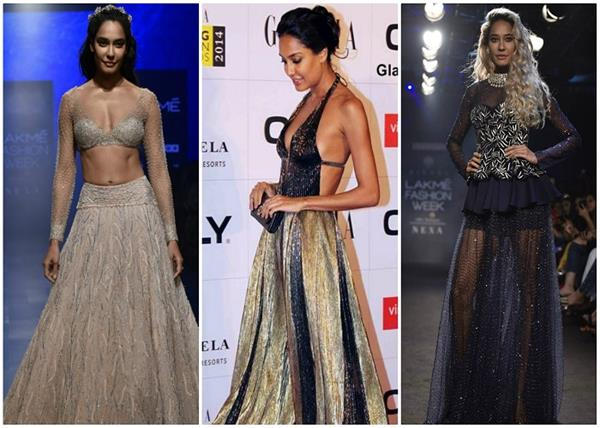 lisa haydon s bold red carpet looks who is most best